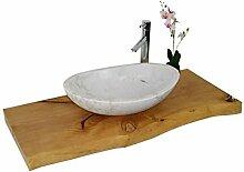 Waschbecken aus Naturstein, Granit, Marmor, Model
