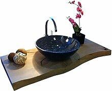 Waschbecken aus Naturstein, Granit, Model Rio