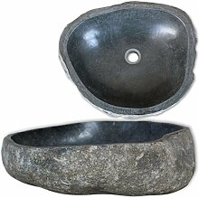 Waschbecken aus Naturstein oval 30cm