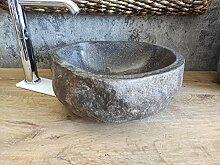 Waschbecken aus Stein, 1. Wahl 83, Größe 39 x 36
