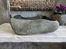 Waschbecken aus Stein, hohe Qualität, 82 cm,
