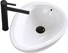 Waschbecken, Chinesische Keramik, Kreative Oval