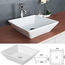 Waschbecken ECKIG Handwaschbecken