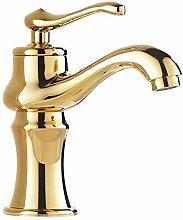Waschbecken Gold Einlochmontage Kalten Wasserhahn