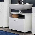 Waschbecken Kommode in Weiß modern