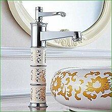 Waschbecken modernen Wasserhahn Einlochmontage