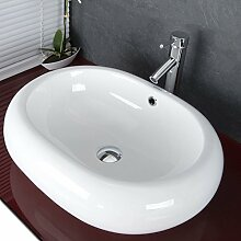 Waschbecken Ovale / Waschschale Aufsatzwaschbecken