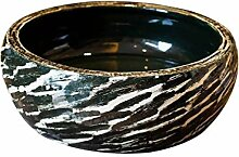 Waschbecken, runde Art Basin - Keramik-Waschbecken