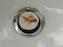 Waschbecken Stöpsel Abfluß Stopfen Goldfisch