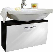 Waschbecken-Unterschrank mit Klappe und