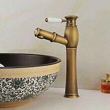 Waschbecken Wasserhähne mit Schlitz, für warme