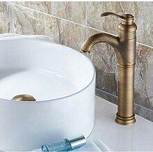 Waschbecken Wasserhahn Antik Messing Einhebelgriff