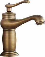 Waschbecken Wasserhahn Antique Bronze Oberfläche