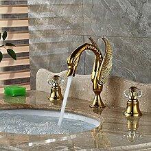 Waschbecken Wasserhahn Bidet-Armaturen Goldene