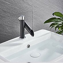 Waschbecken Wasserhahn Chrom Mit Schwarz
