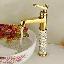Waschbecken Wasserhahn Einhebel Einloch Heiß- Und