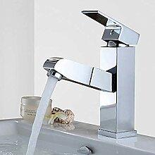 Waschbecken Wasserhahn für Shampoo und Gesicht