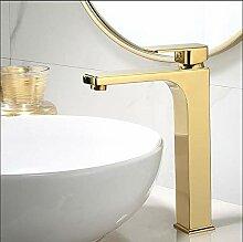 Waschbecken Wasserhahn Gold Bad Wasserhahn Einhand