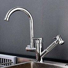 Waschbecken Wasserhahn mit verstellbarem Bidet