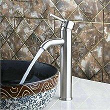 Waschbecken Wasserhahn Nickel Gebürstet Bad