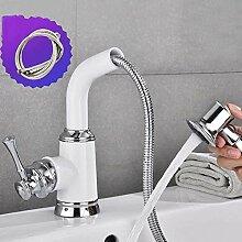 Waschbecken Wasserhahn Vintage Auszieharmaturen