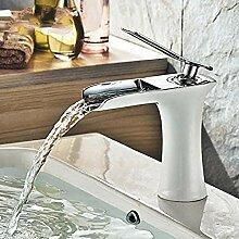 Waschbecken Wasserhahn Wasserfall Badezimmer