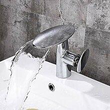 Waschbecken Wasserhahn - Wasserfall