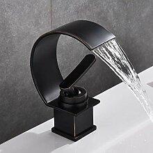 Waschbecken Wasserhahn, Wasserfall mit