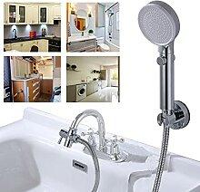Waschbecken-Wasserhahn-Zubehör, verbunden mit dem