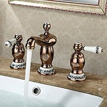 Waschbecken weit verbreiteten zeitgen?ssischen Design stieg Kaltendehahn