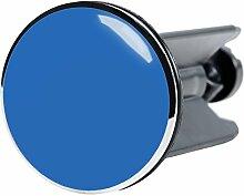 Waschbeckenstöpsel Blau, passend für alle