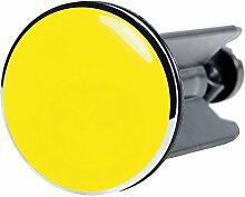 Waschbeckenstöpsel Gelb, passend für alle
