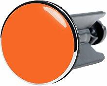 Waschbeckenstöpsel Orange, passend für alle