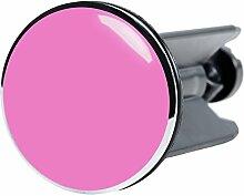 Waschbeckenstöpsel Pink, passend für alle