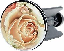 Waschbeckenstöpsel Rosa Rose, passend für alle handelsüblichen Waschbecken, hochwertige Qualität ✶✶✶✶✶