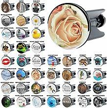 Waschbeckenstöpsel Rosa Rose, viele schöne Waschbeckenstöpsel zur Auswahl, hochwertige Qualität ✶✶✶✶✶