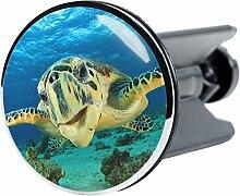 Waschbeckenstöpsel Schildkröte, passend für