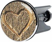 Waschbeckenstöpsel True Love, passend für alle handelsüblichen Waschbecken, hochwertige Qualität ✶✶✶✶✶