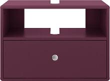 Waschbeckenunterschrank - Tom Tailor - Violett