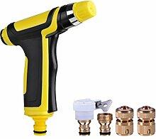 Waschen Hochdruck-Wasser Pistole Sets Haushalt Bewässerung Bewässerung Blumen Wasser Pistole angeschlossen werden kann Waschmaschinen Wasserhahn ( Farbe : A )
