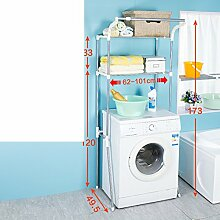 waschen Rack/Etage Bad Regal/Bad Lagerregal/WC Waschmaschine Regal-C