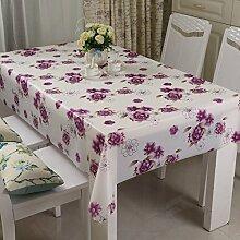Waschen und ölfreie Einweg-Tischdecke/Tischdecken/ Tischtuch/wasserdichte Tapete/ Pastorale/Tischdecke decke-C 120x180cm(47x71inch)