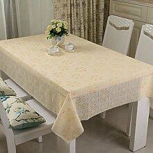 Waschen und ölfreie Einweg-Tischdecke/Tischdecken/ Tischtuch/wasserdichte Tapete/ Pastorale/Tischdecke decke-T 120x180cm(47x71inch)