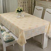 Waschen und ölfreie Einweg-Tischdecke/Tischdecken/ Tischtuch/wasserdichte Tapete/ Pastorale/Tischdecke decke-S 138x200cm(54x79inch)
