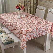 Waschen und ölfreie Einweg-Tischdecke/Tischdecken/ Tischtuch/wasserdichte Tapete/ Pastorale/Tischdecke decke-M 138x200cm(54x79inch)