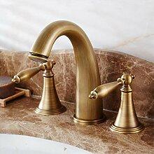 Waschraumarmaturen Messing Antiken Heißen Und