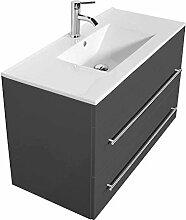 Waschtisch 100cm mit Waschtischunterschrank in