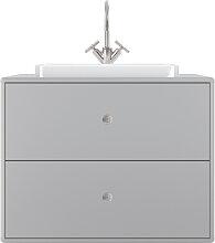 Waschtisch mit Waschbecken - Tom Tailor 4962 - Grau