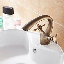 Waschtischarmatur Antike Messing Badezimmer Becken