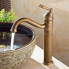 Waschtischarmatur Antike Messing Becken Wasserhahn